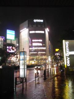 ふたたび雨の渋谷